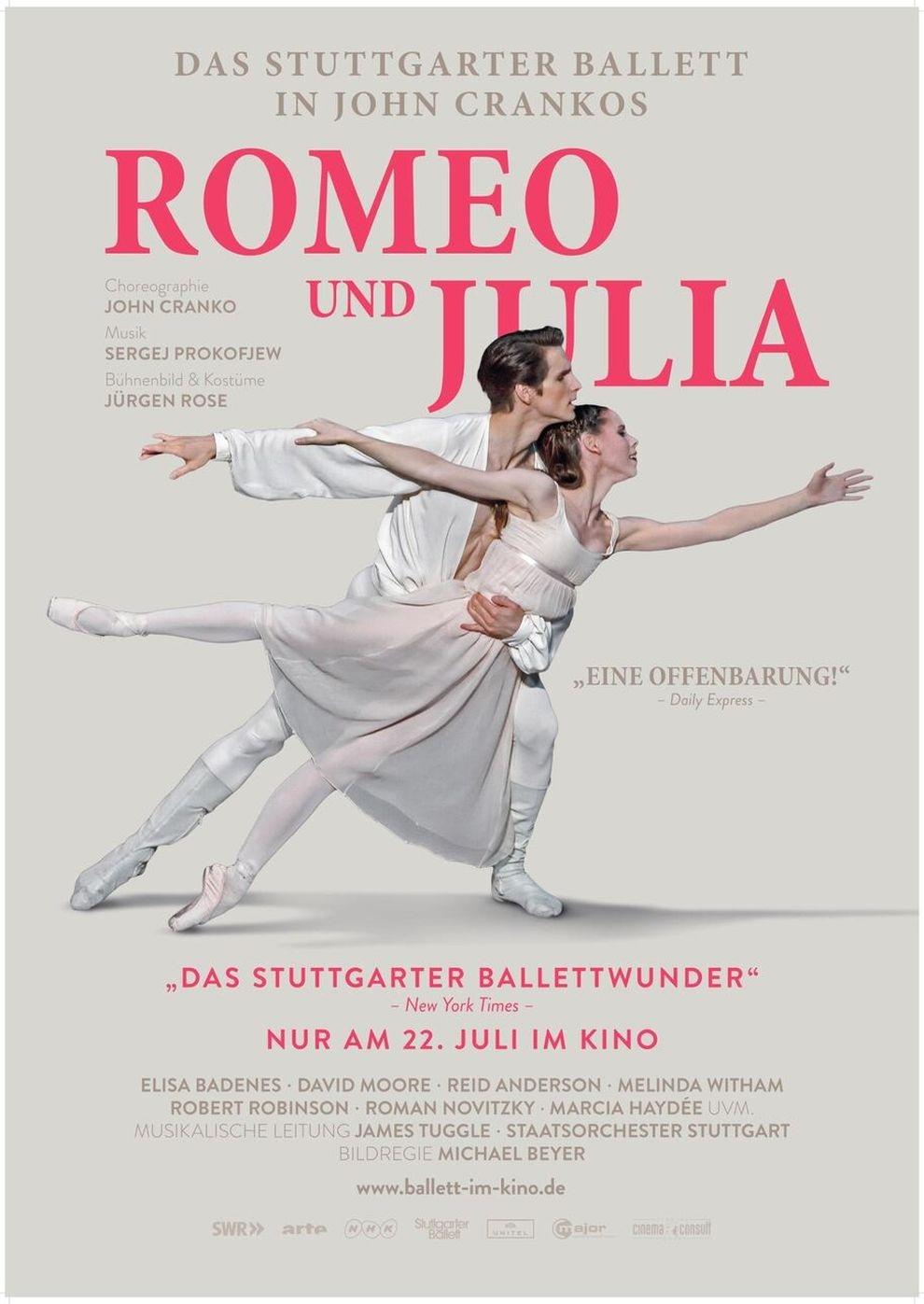 John Crankos: Romeo & Julia - Stuttgarter Ballett (Poster)