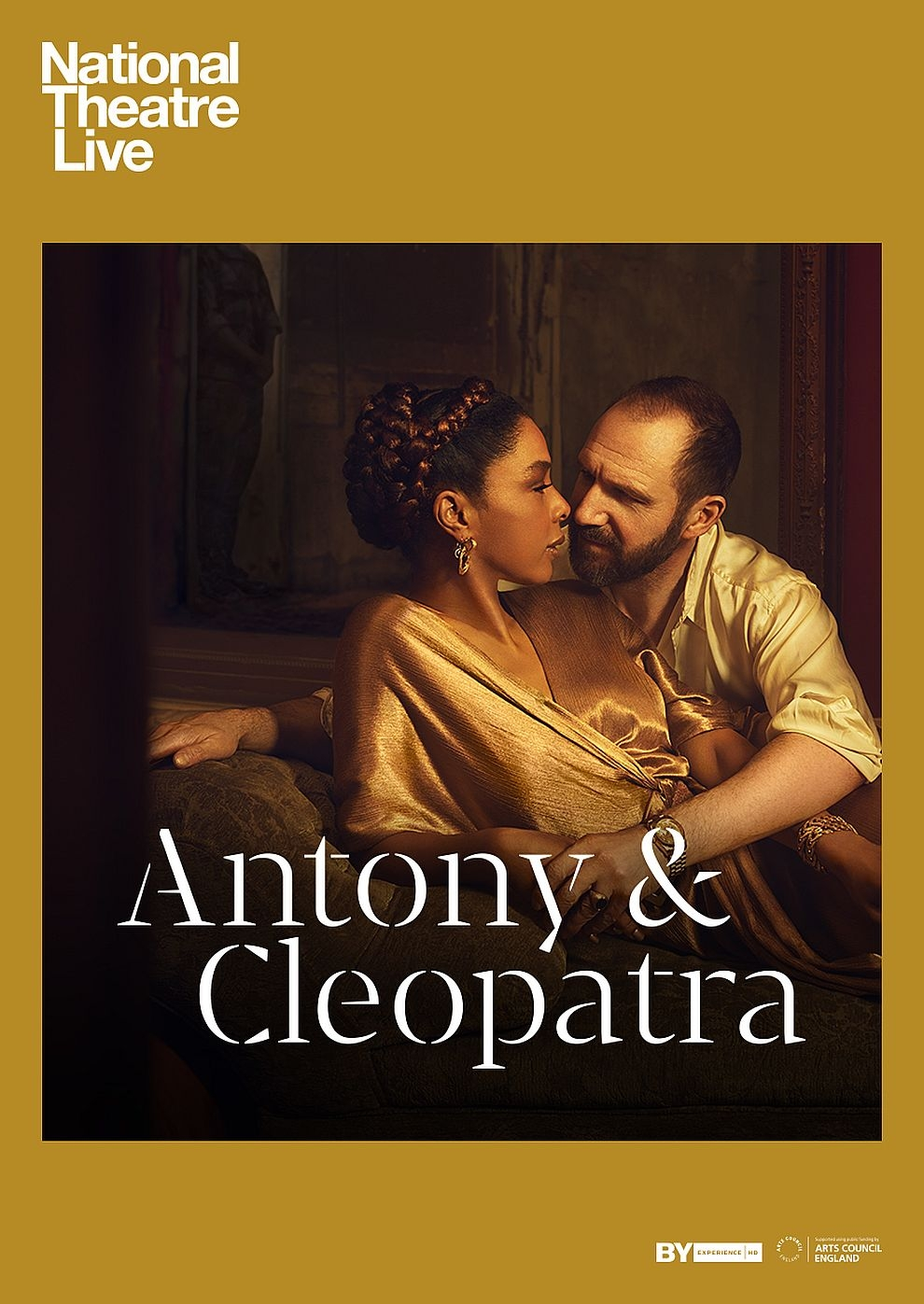 National Theatre Live: Antony & Cleopatra (Poster)