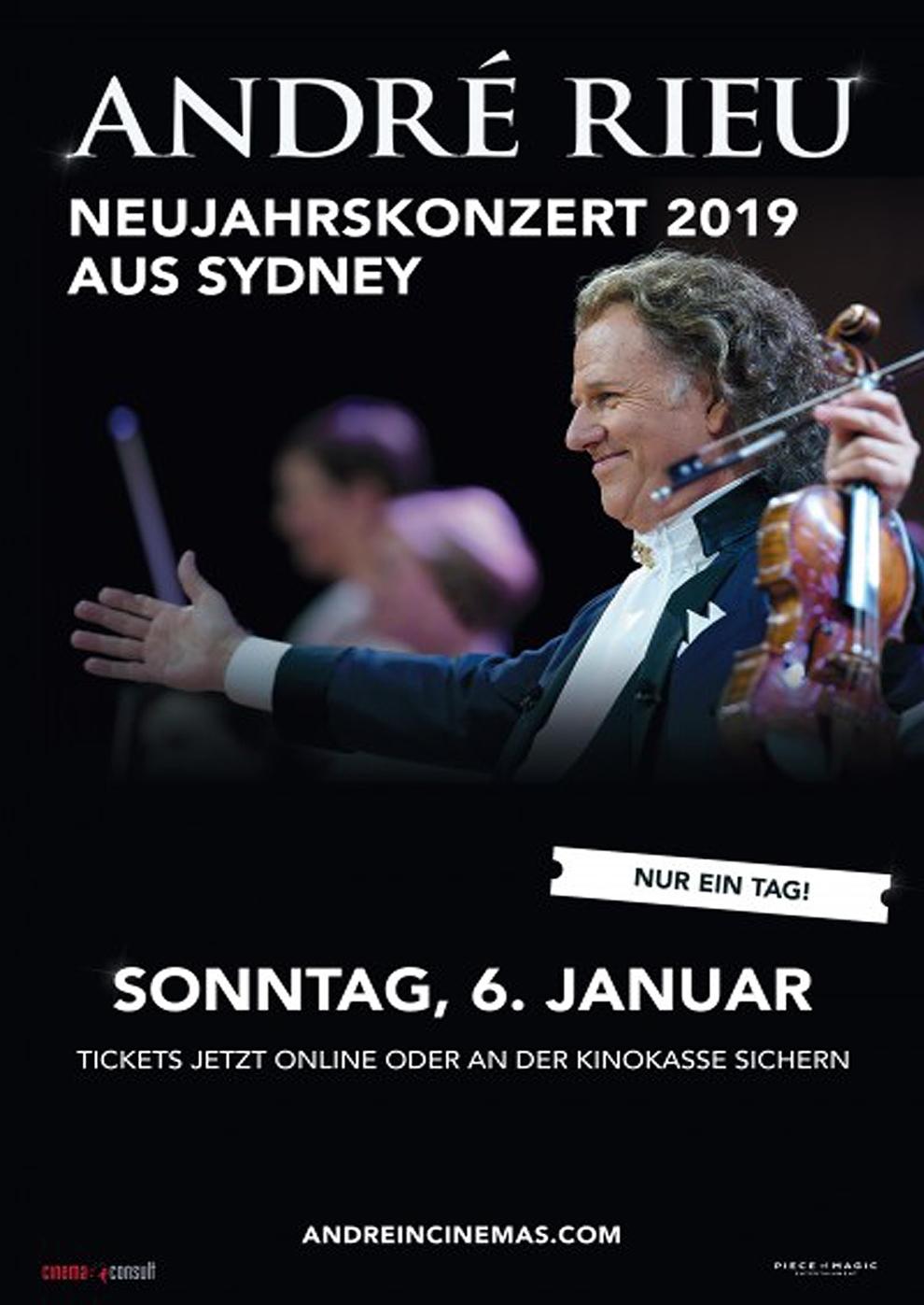André Rieu - Neujahrskonzert 2019 (Poster)