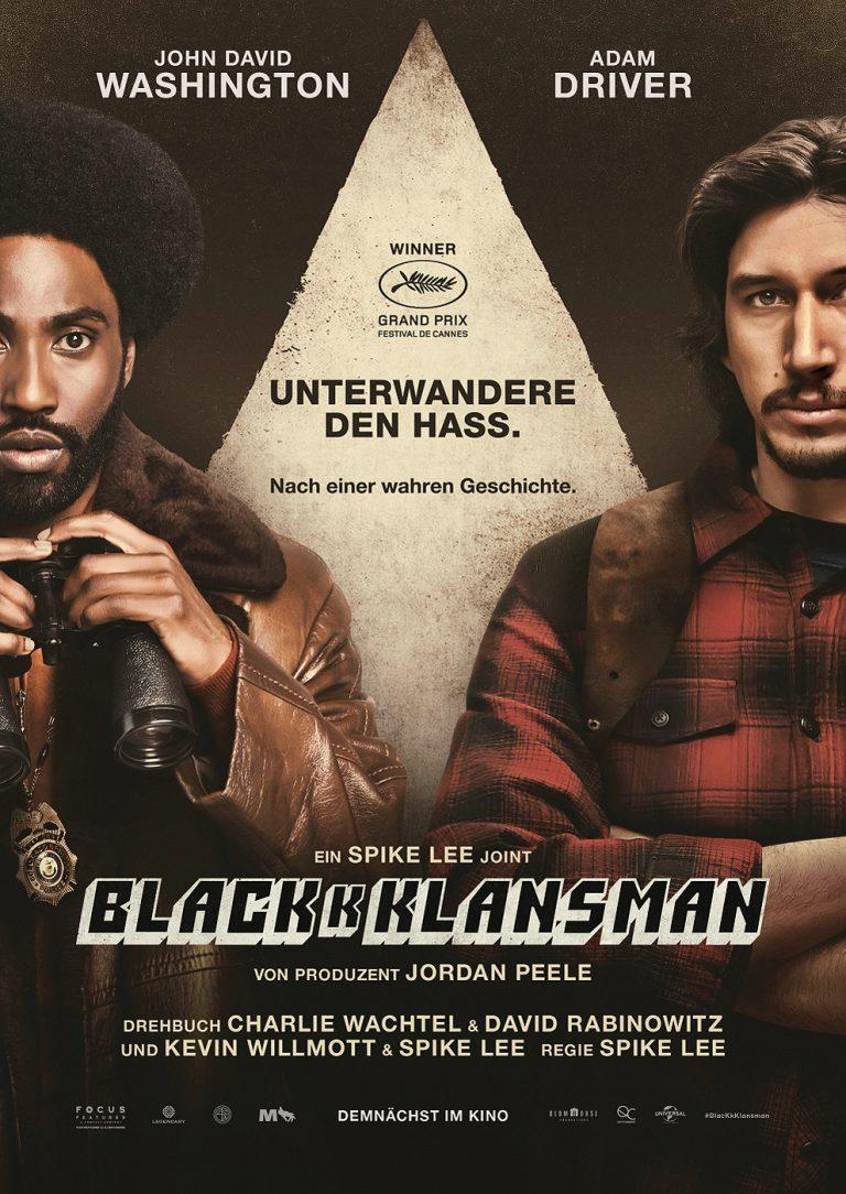 BlacKkKlansman (Poster)