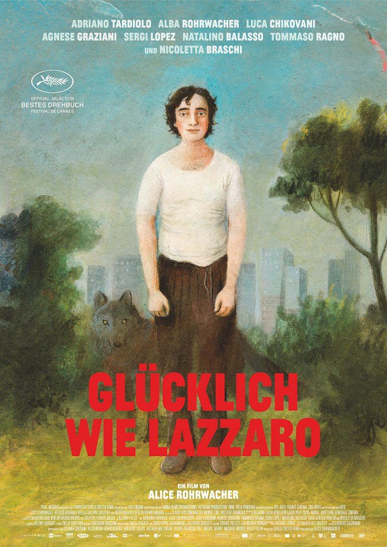 Glücklich wie Lazzaro (Poster)