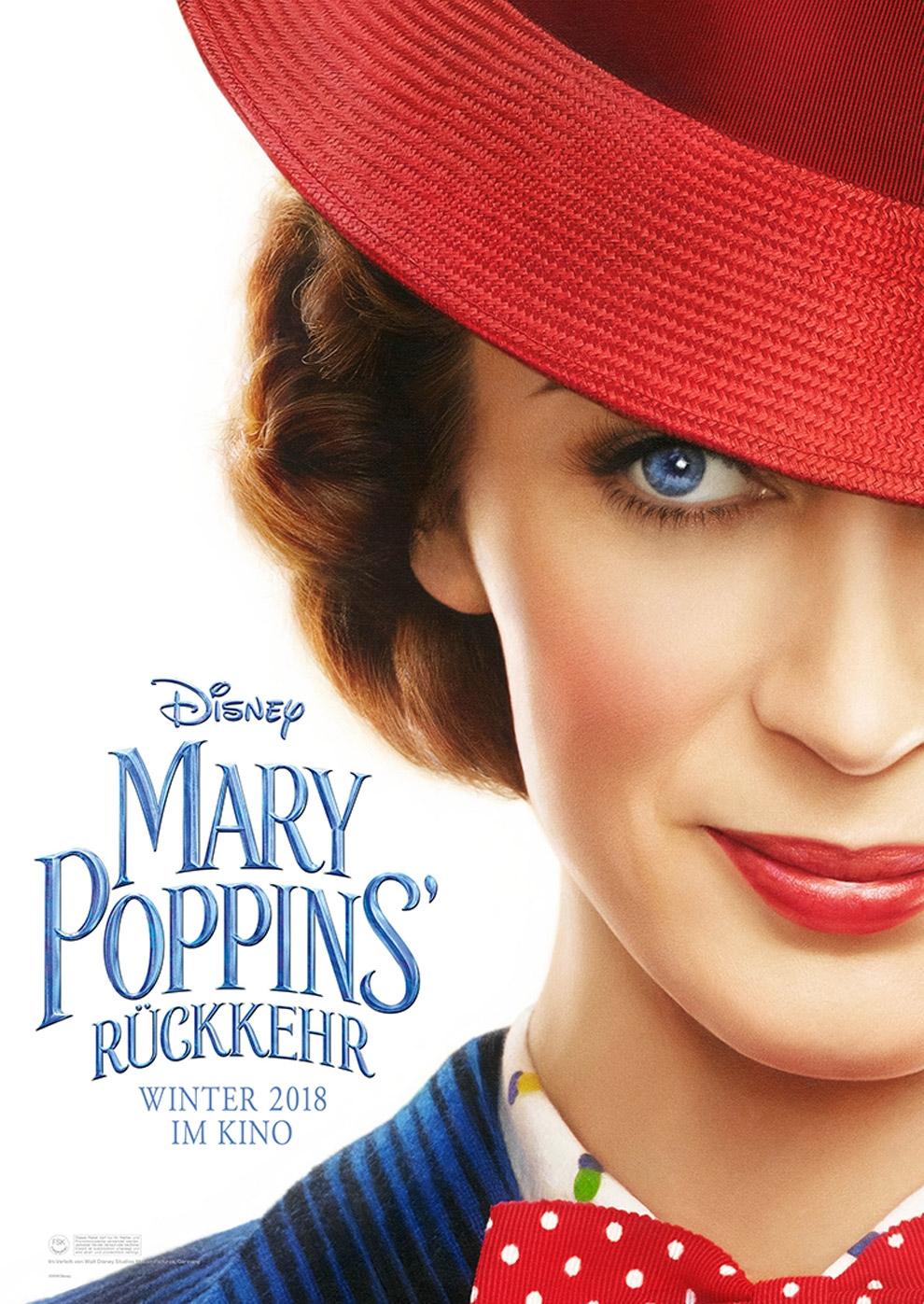 Mary Poppins' Rückkehr (Poster)