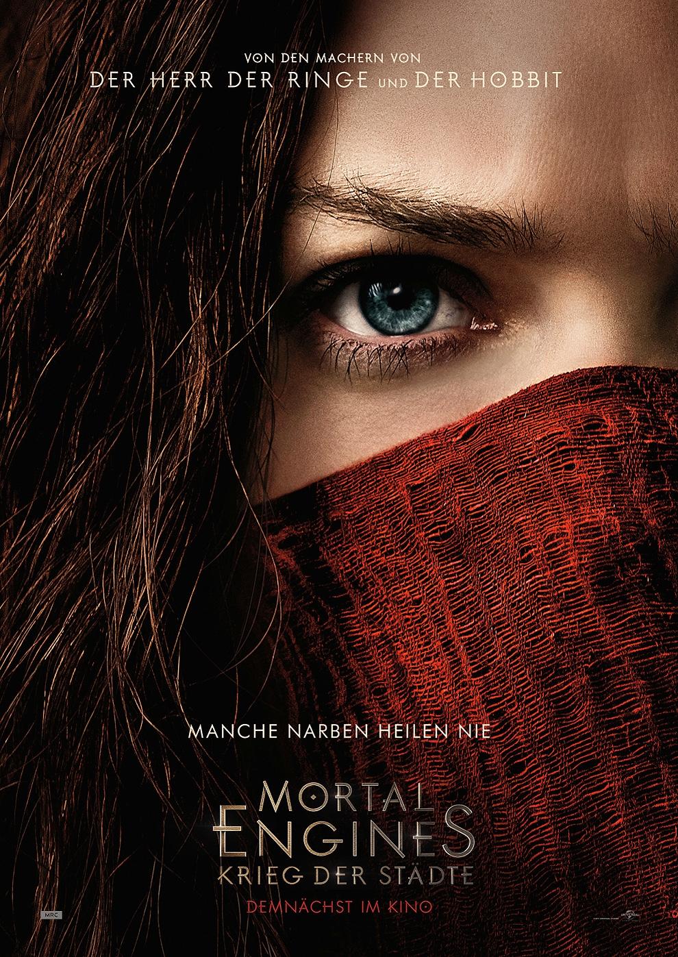 Mortal Engines: Krieg der Städte (Poster)