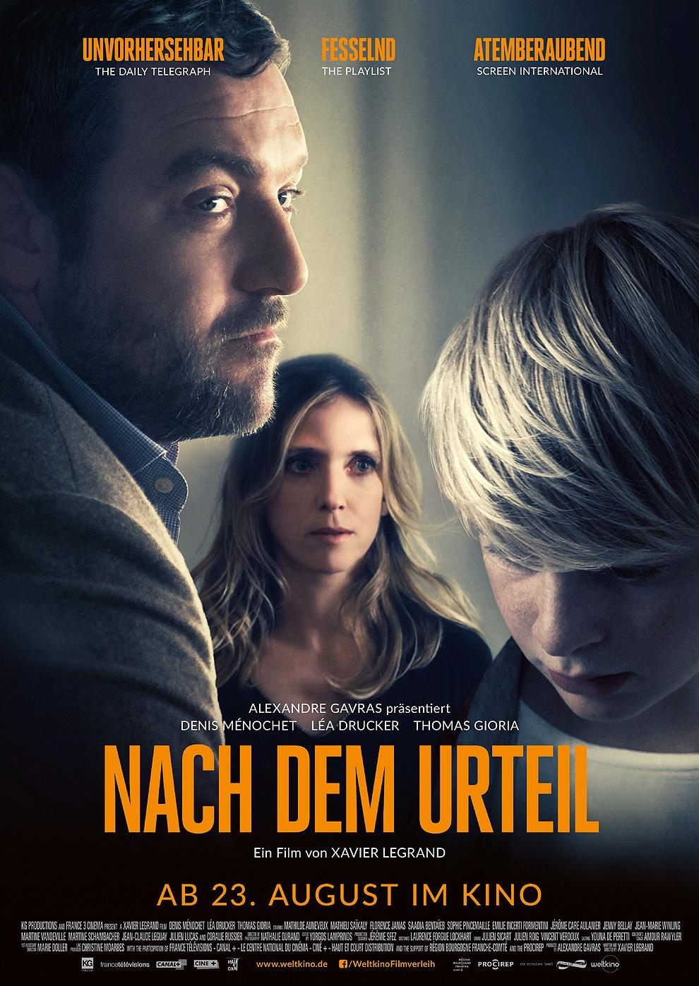 Nach dem Urteil (Poster)