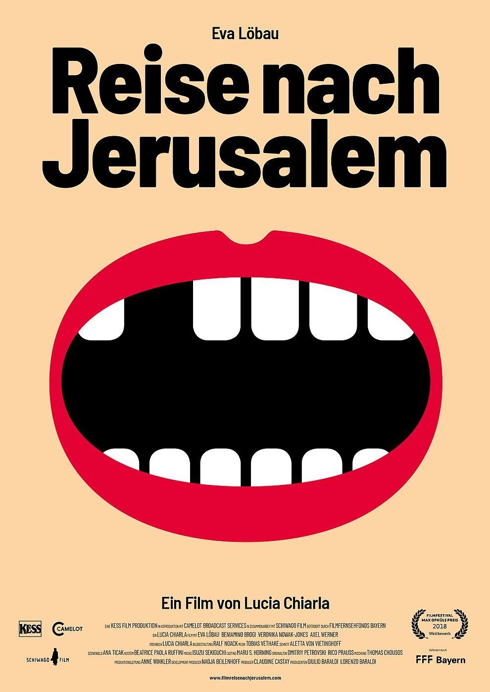 Reise nach Jerusalem (2017) (Poster)