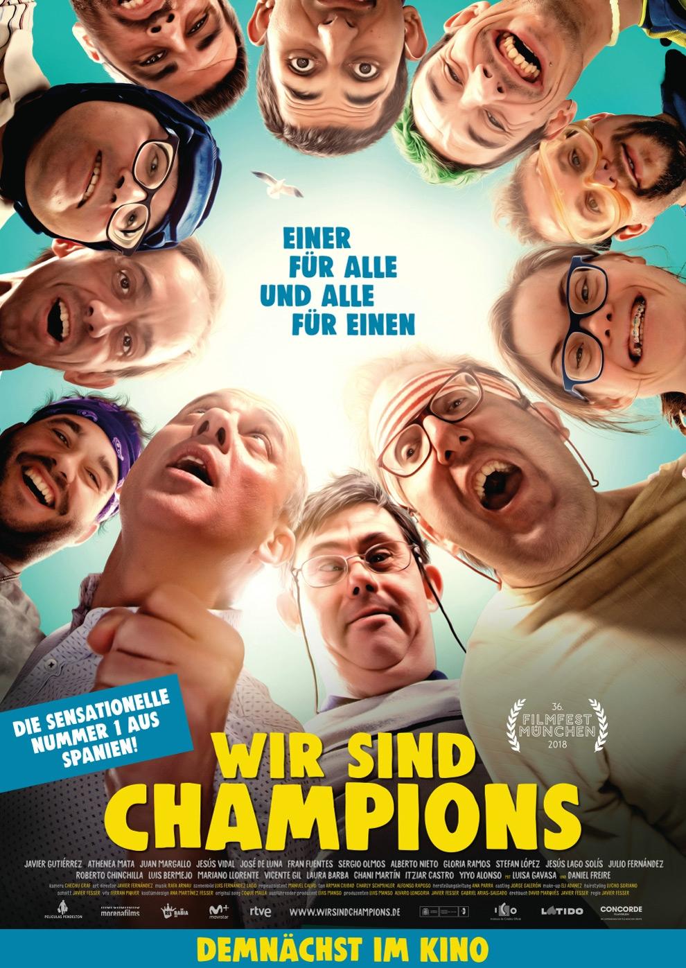 Wir sind Champions (Poster)