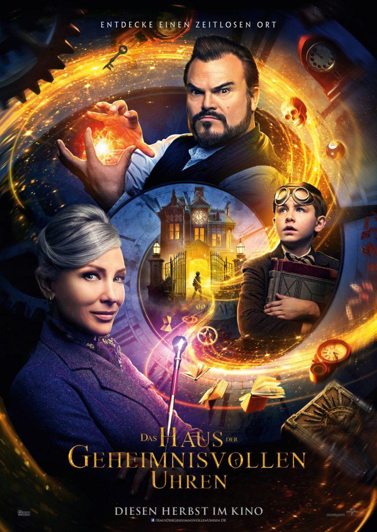 Das Haus der geheimnisvollen Uhren (Poster)