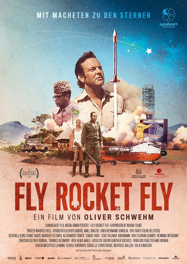 Fly rocket fly (Poster)