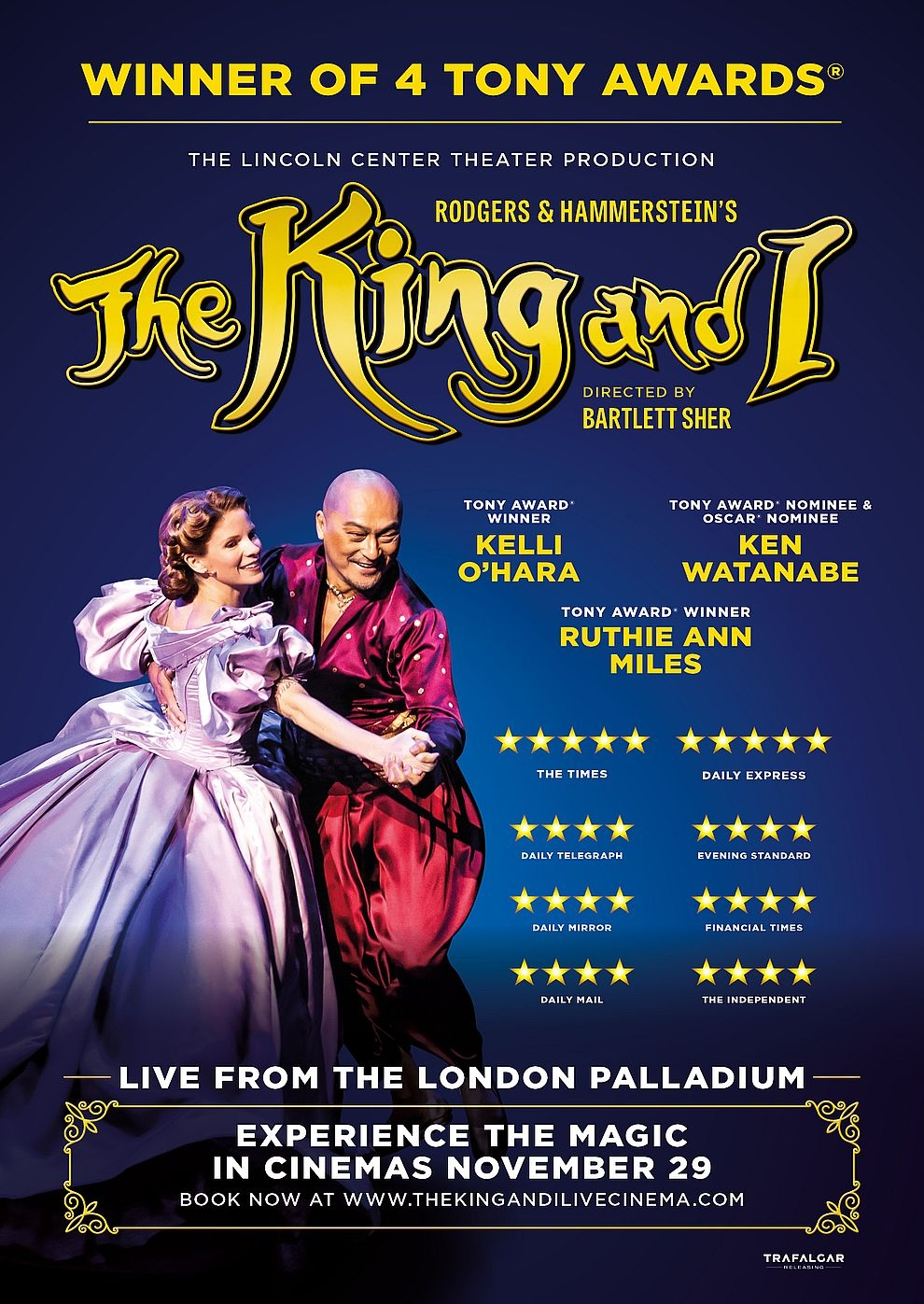 The King And I - Musical from London Palladium 2018 (Poster)