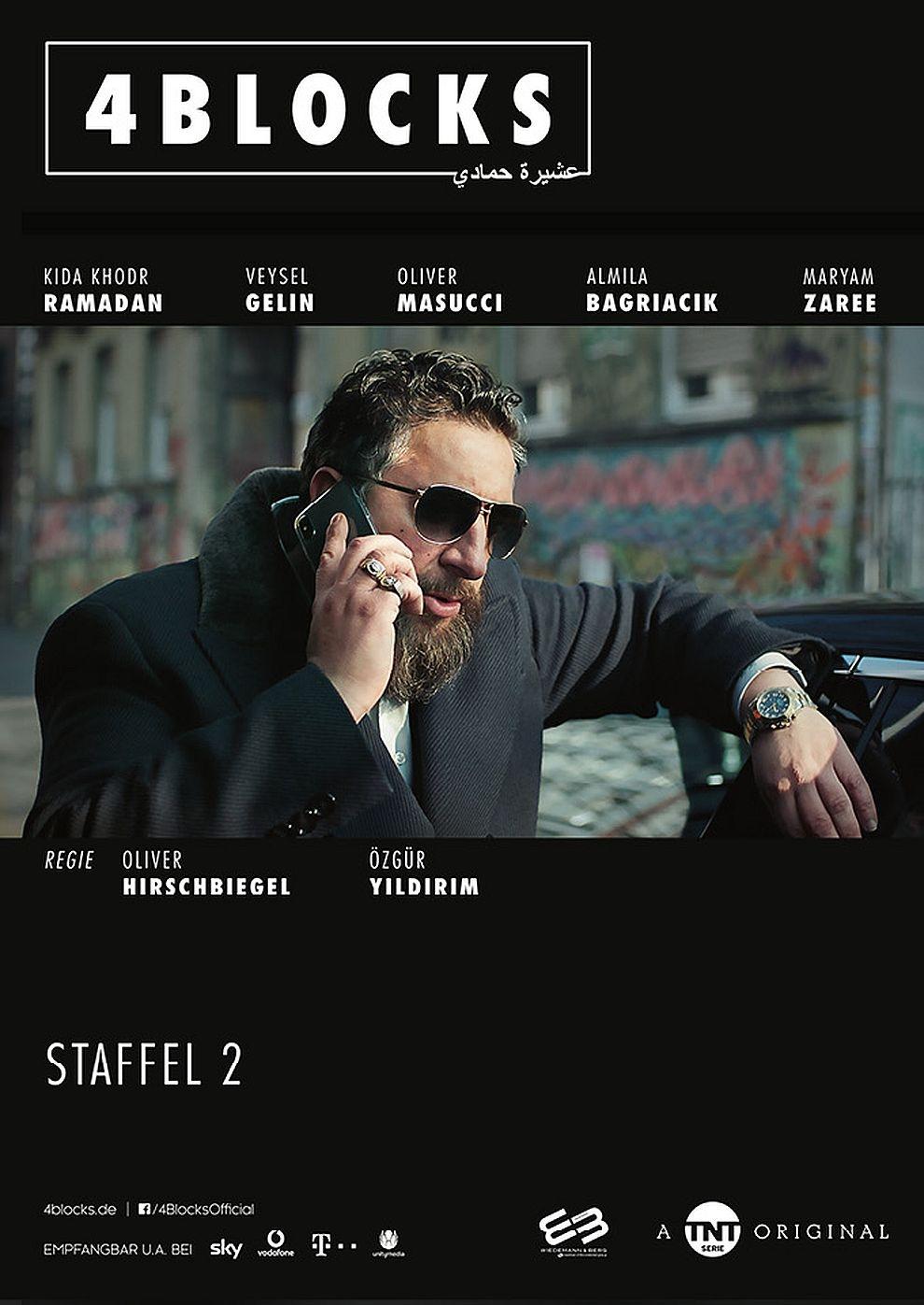 4 Blocks - 2. Staffel - Folge 1&2 (Poster)