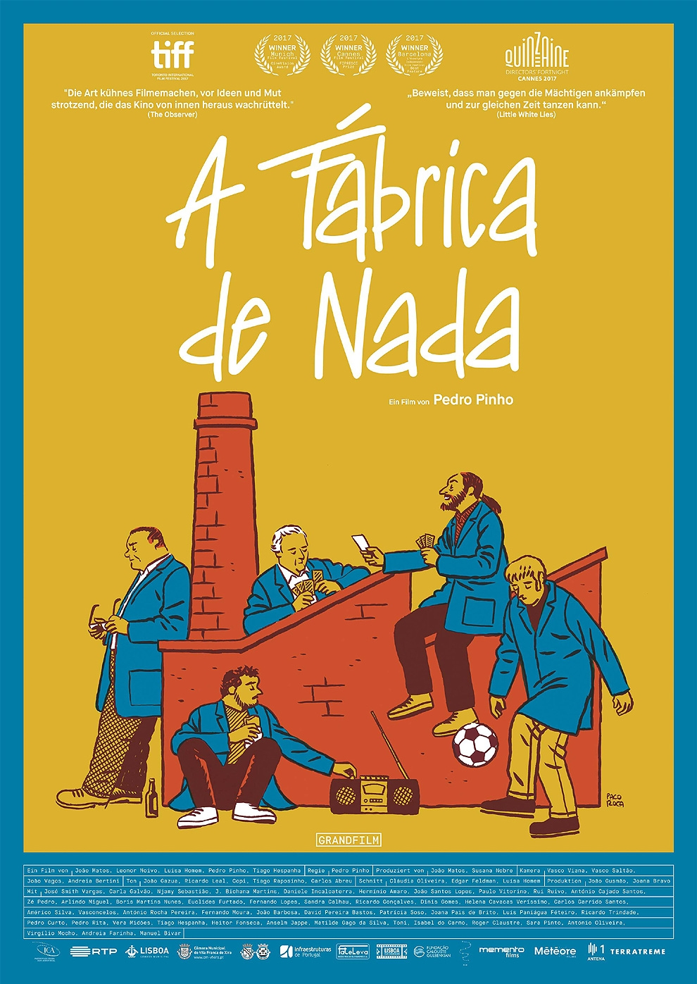 A Fábrica de Nada (Poster)