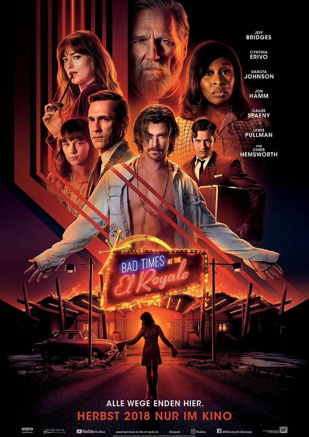 Bad Times at the El Royale (Poster)