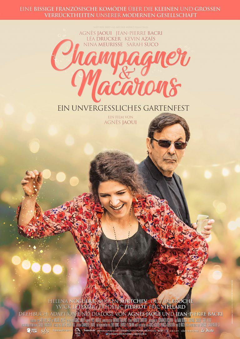 Champagner & Macarons - Ein unvergessliches Gartenfest (Poster)