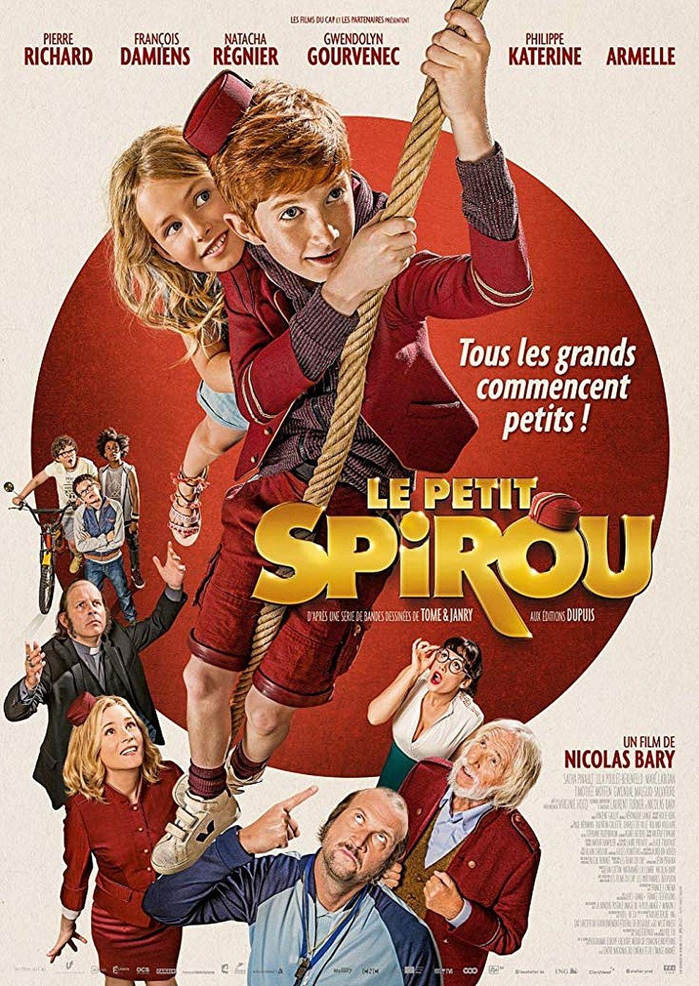Der kleine Spirou (Poster)