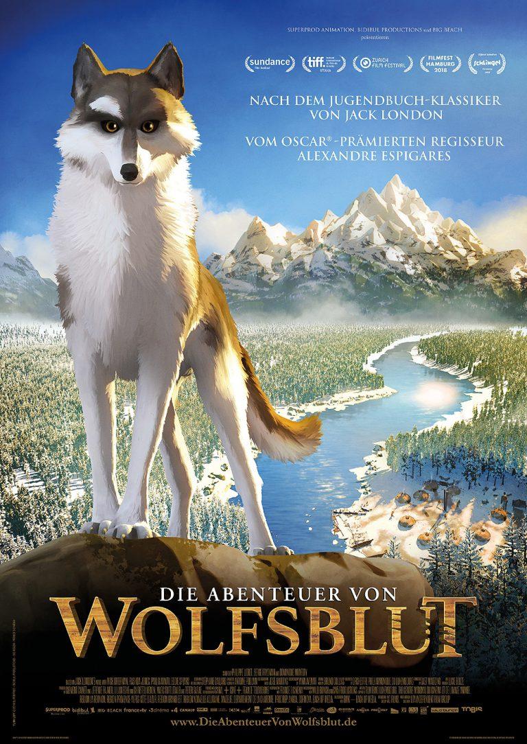 Die Abenteuer von Wolfsblut (Poster)