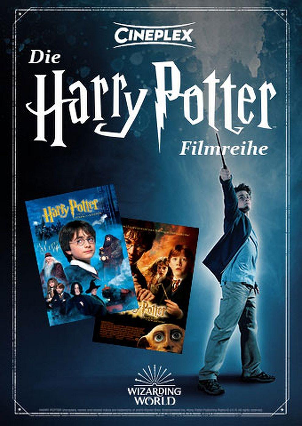 Die harry potter filmreihe teil 1 2 2001 for Die gute kuche teil 2