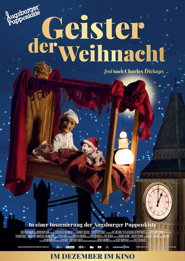 Geister der Weihnacht - Augsburger Puppenkiste (Poster)