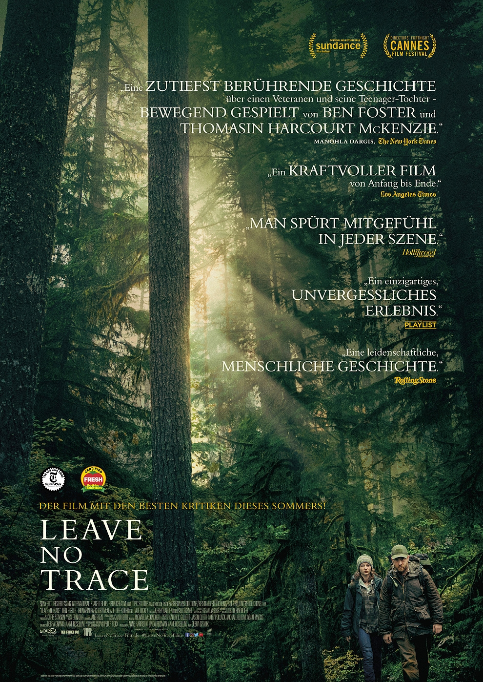 Leave no Trace (Poster)