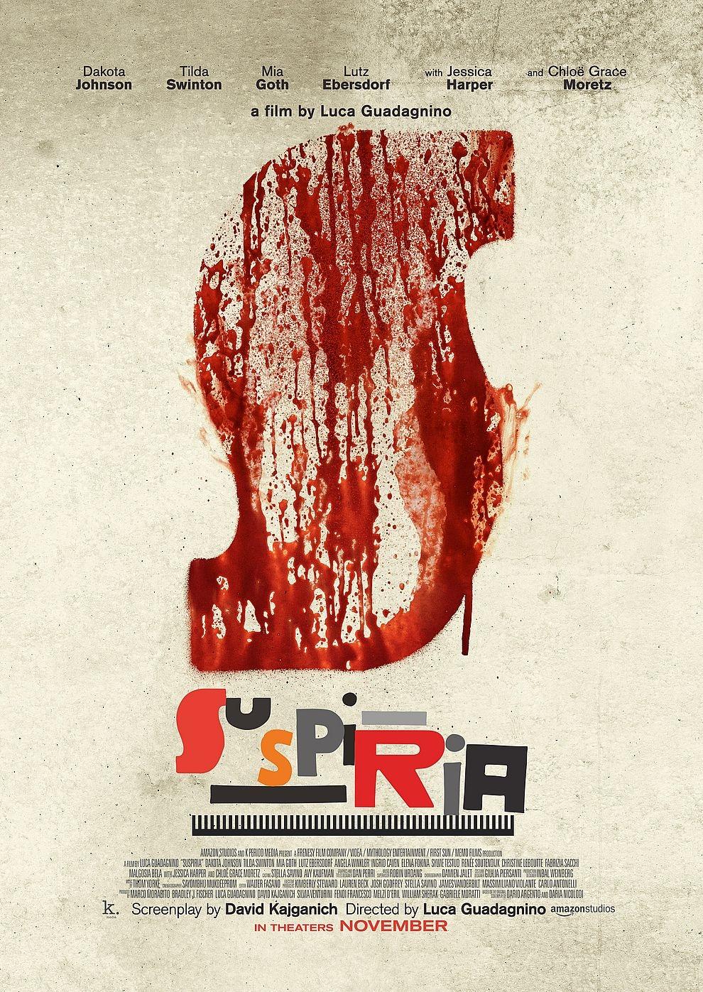 Suspiria (2018) (Poster)