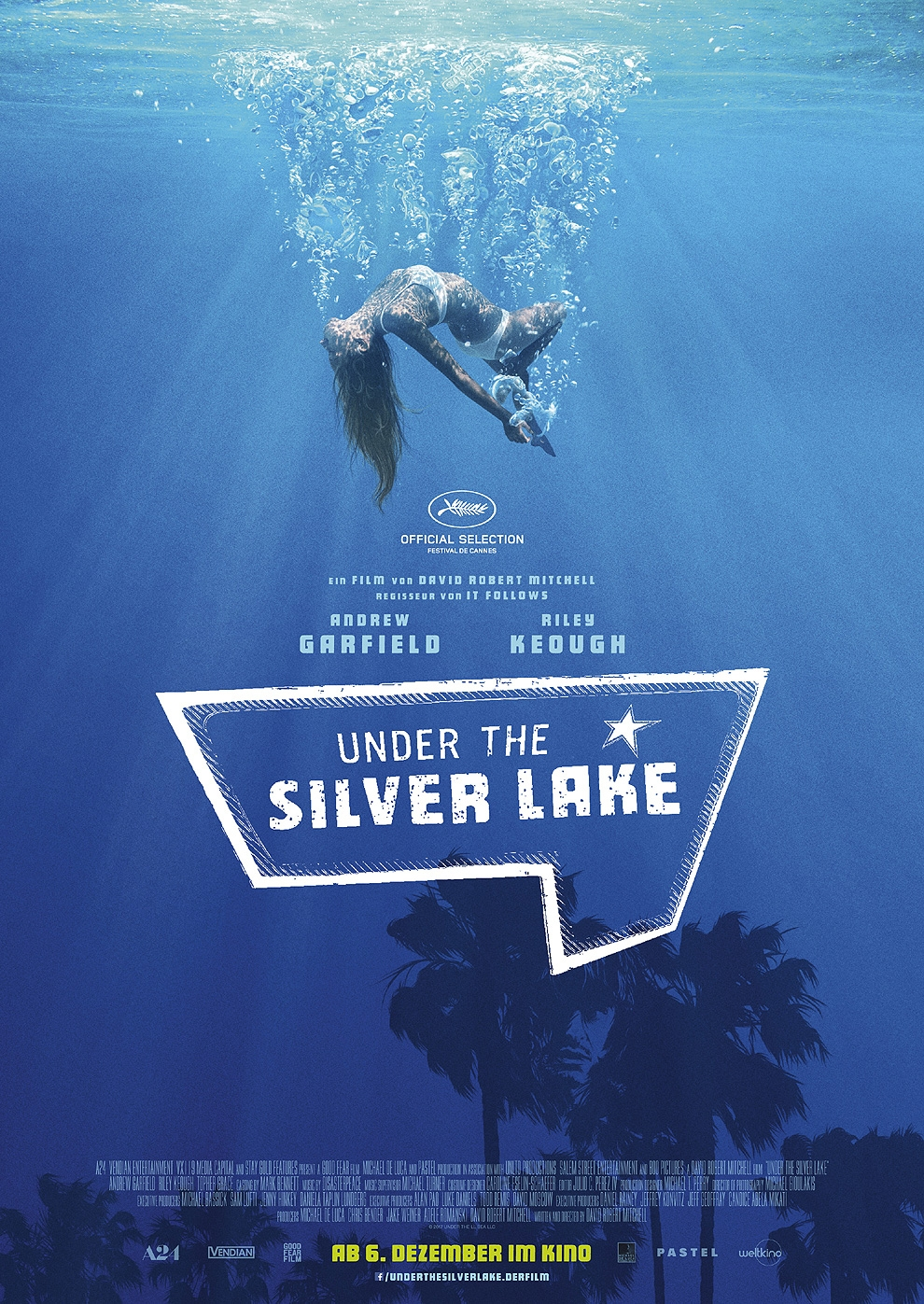 Under the Silver Lake (Poster)