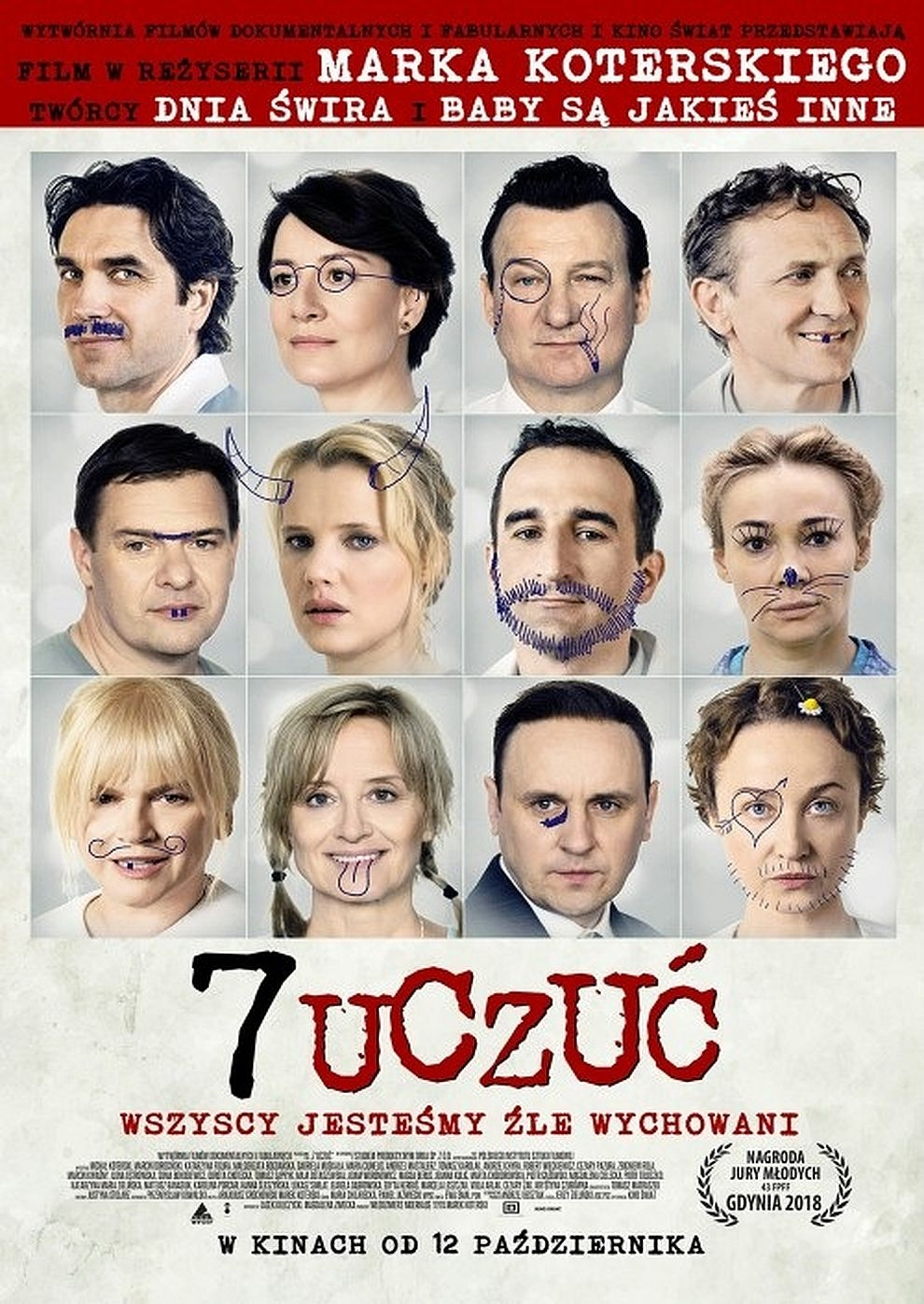 7 Uczuc / 7 Emotions (Poster)