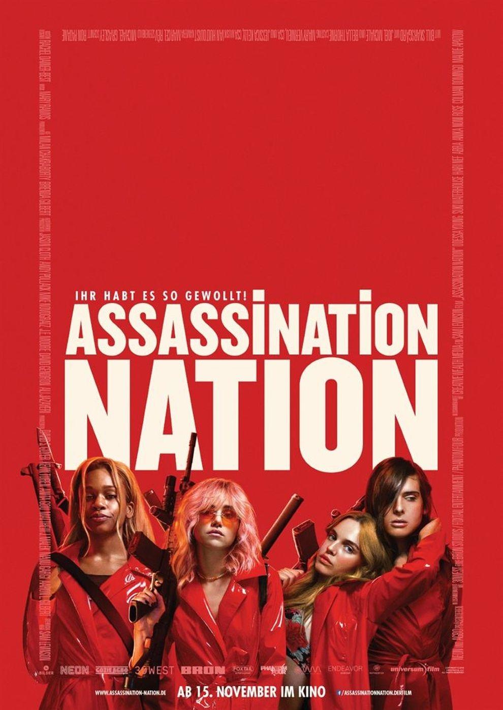 Assassination Nation (Poster)