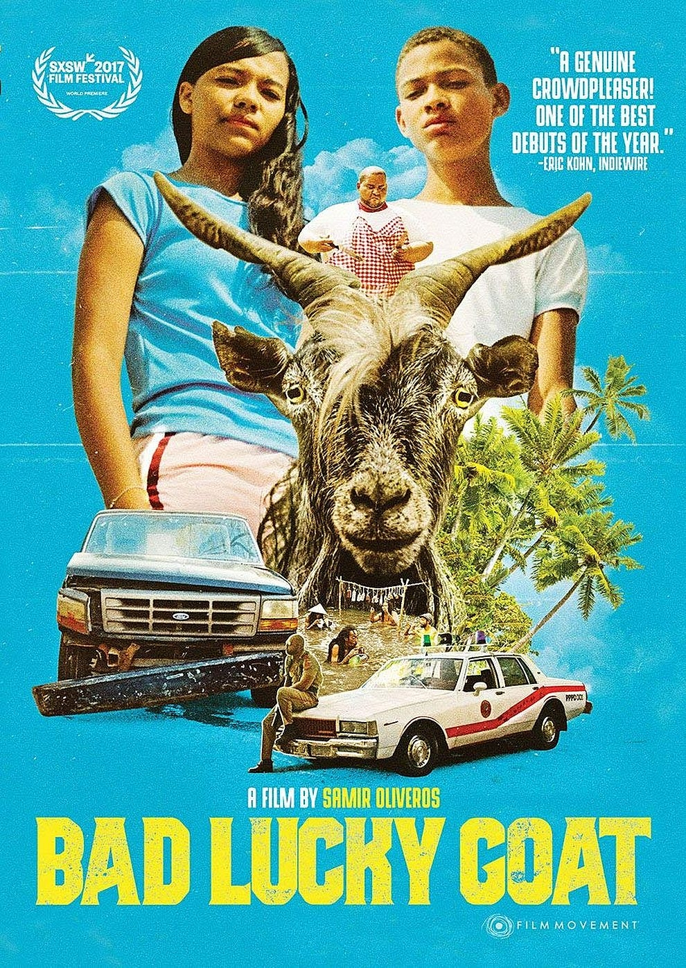 Bad Lucky Goat (Poster)