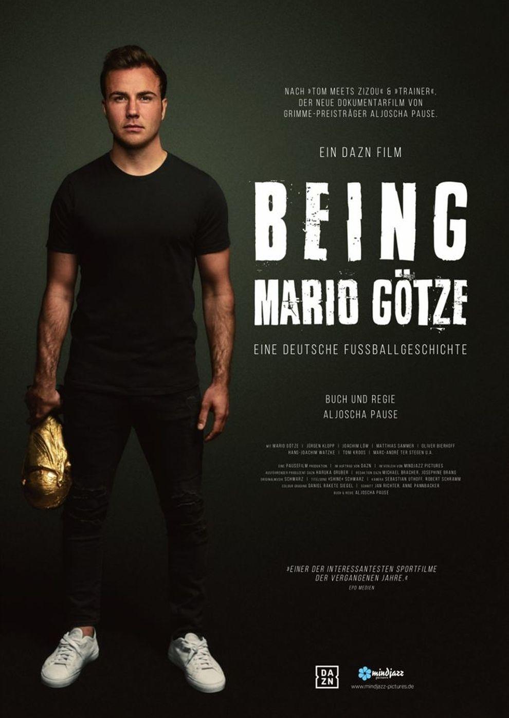 Being Mario Götze (Poster)