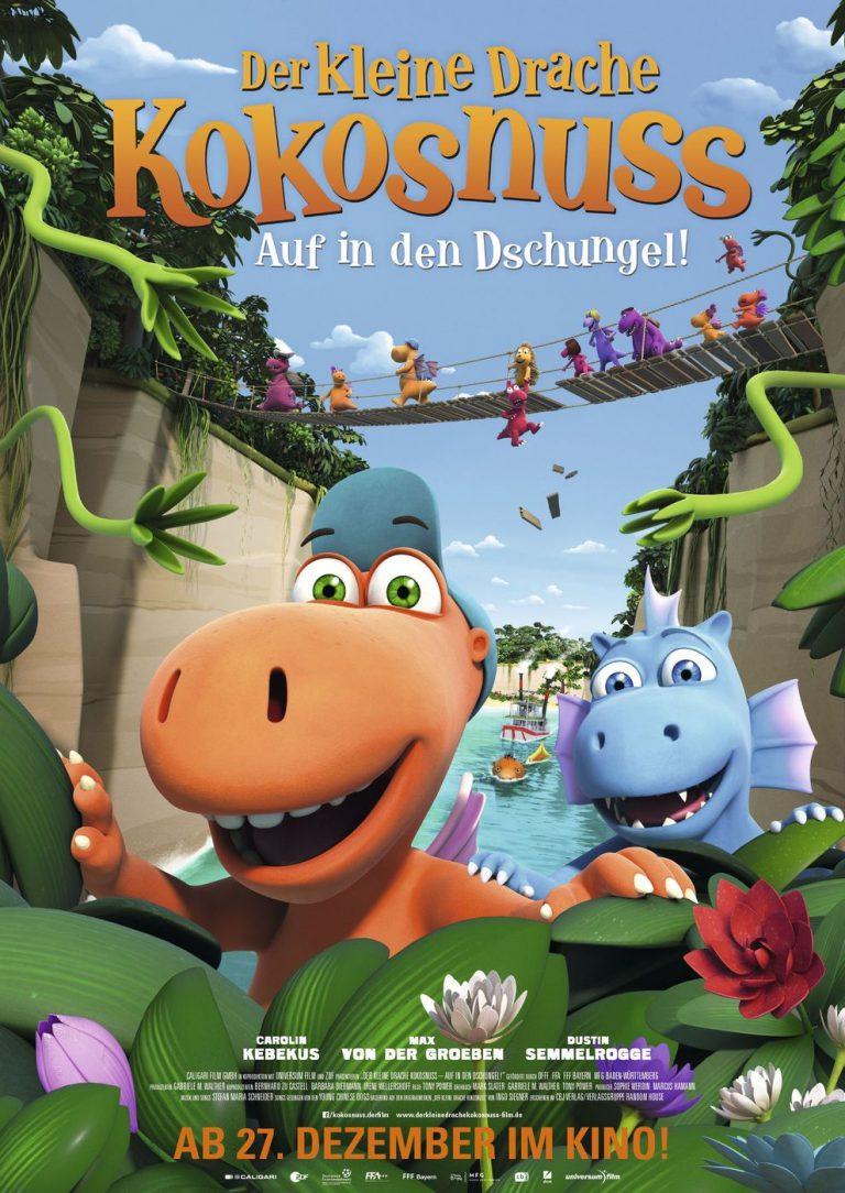 Der kleine Drache Kokosnuss - Auf in den Dschungel! (Poster)