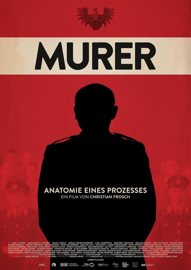 Murer - Anatomie eines Prozesses (Poster)