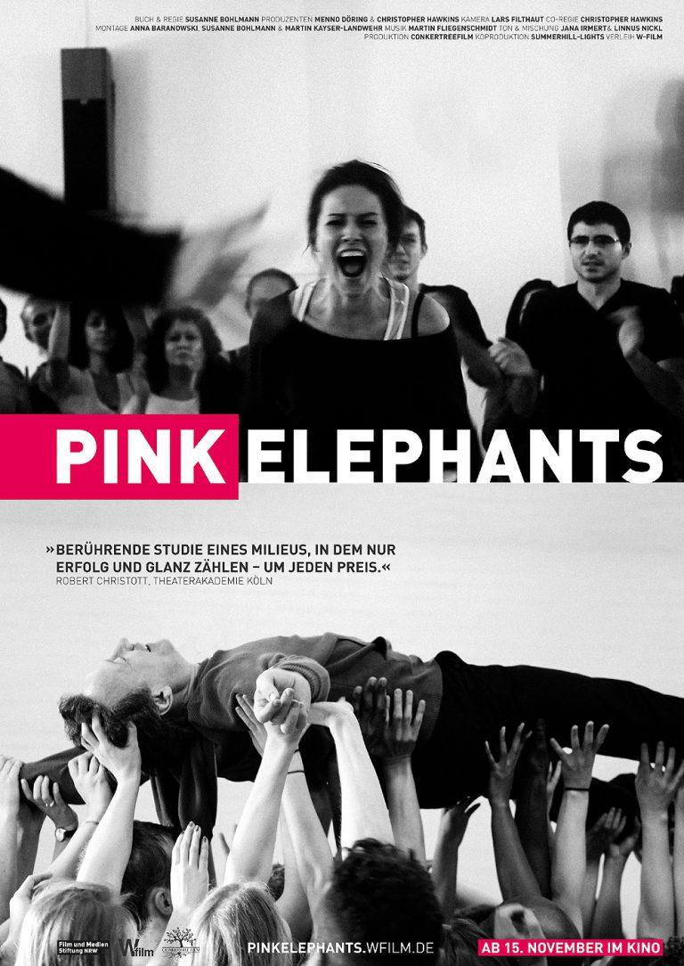 Pink Elephants (Poster)