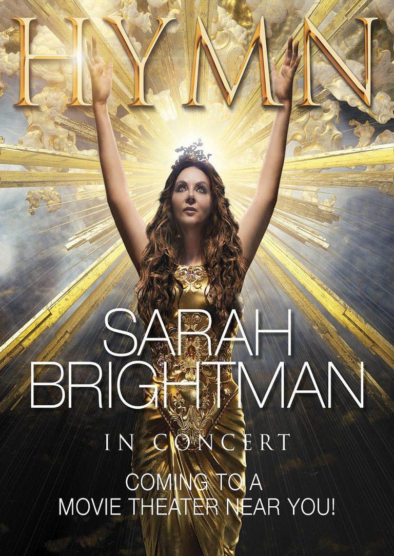 Sarah Brightman in Concert - HYMN (Poster)