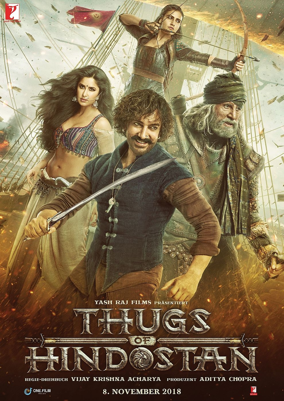 Thugs of Hindostan (Poster)