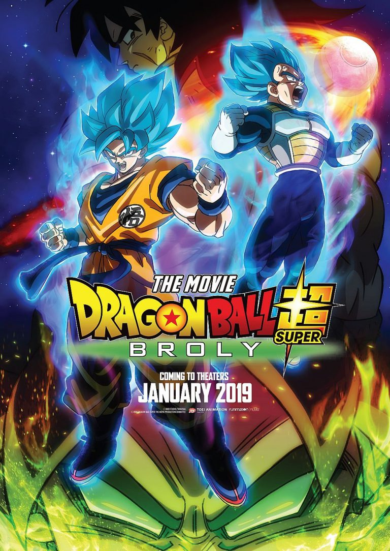 Anime Night 2019: Dragonball Super: Broly (Poster)