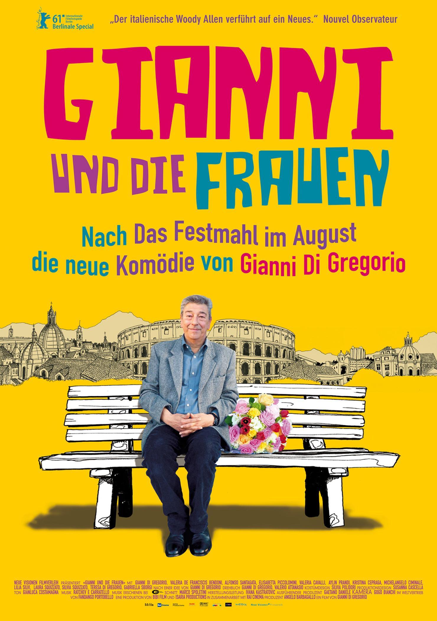 Gianni und die Frauen (Poster)