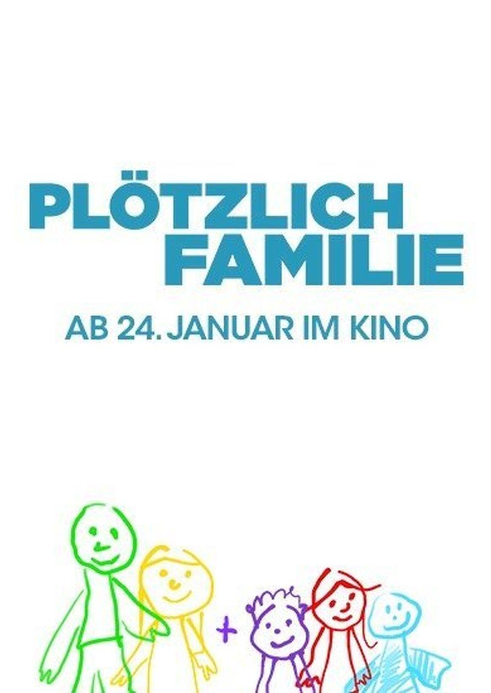 Plötzlich Familie (Poster)
