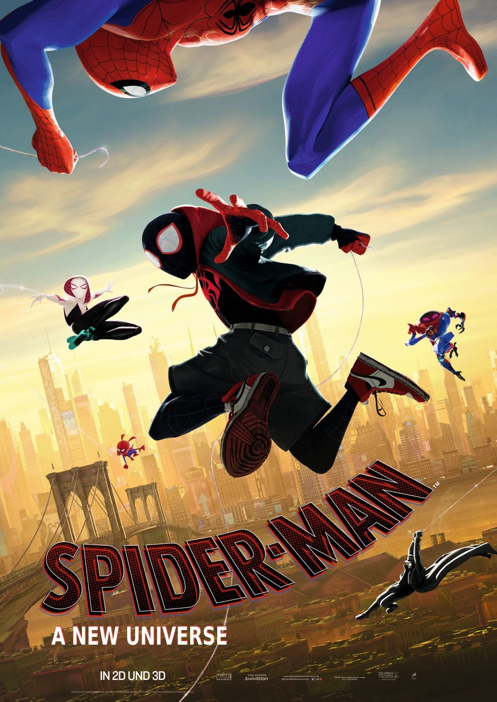 Spider-Man: A New Universe (Poster)