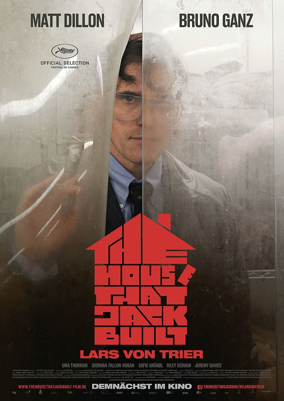 The House That Jack Built (Poster)