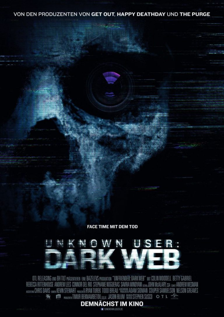 Unknown User: Dark Web (Poster)