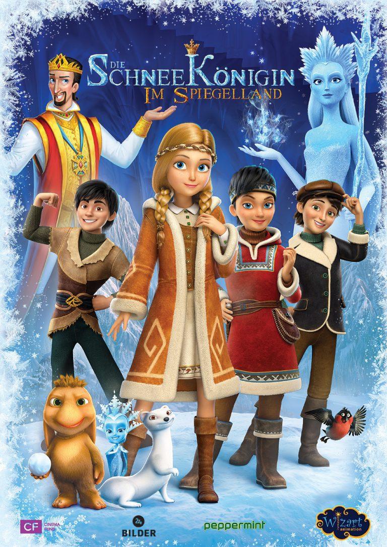 Die Schneekönigin: Im Spiegelland (Poster)