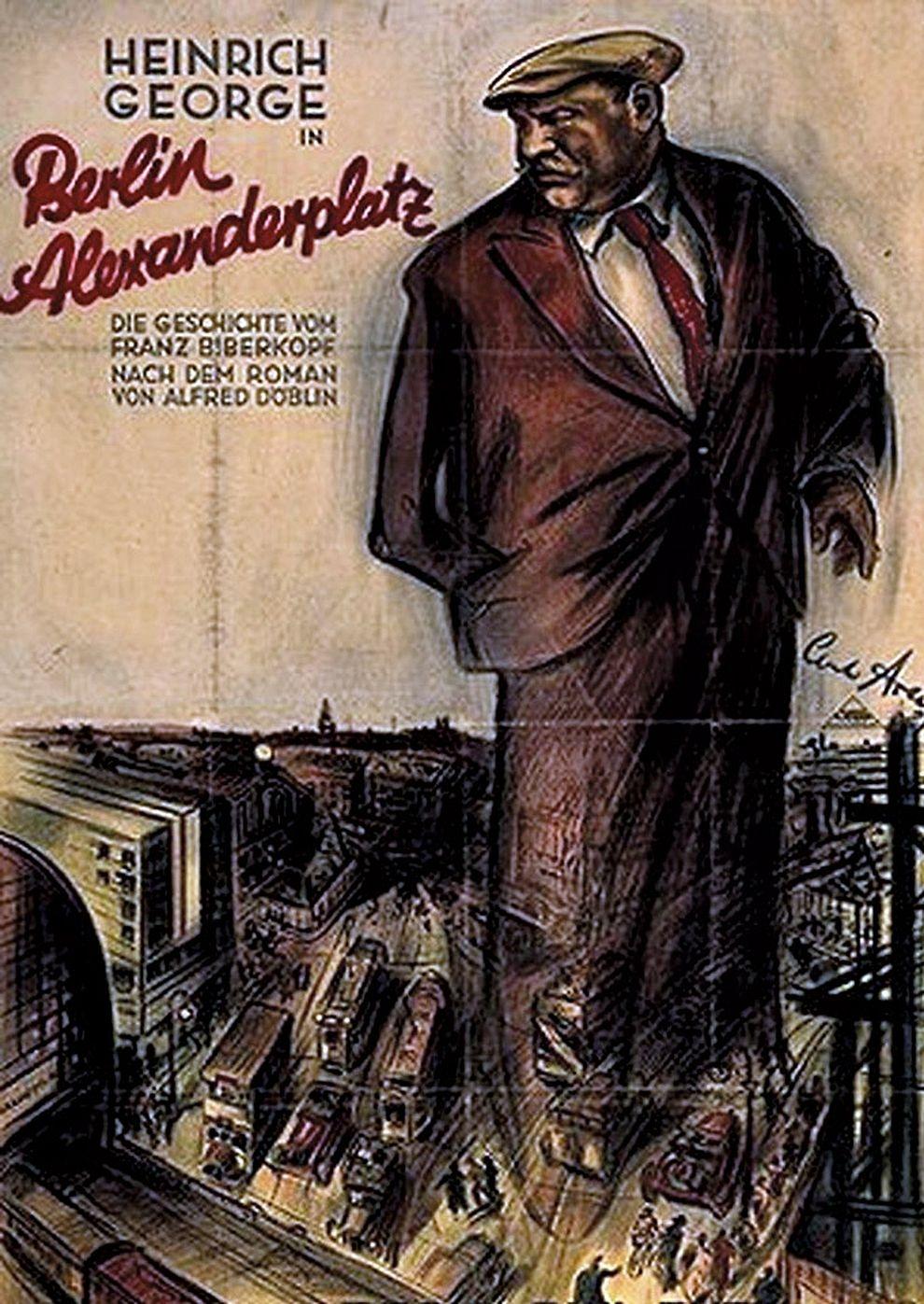 Berlin - Alexanderplatz (Poster)