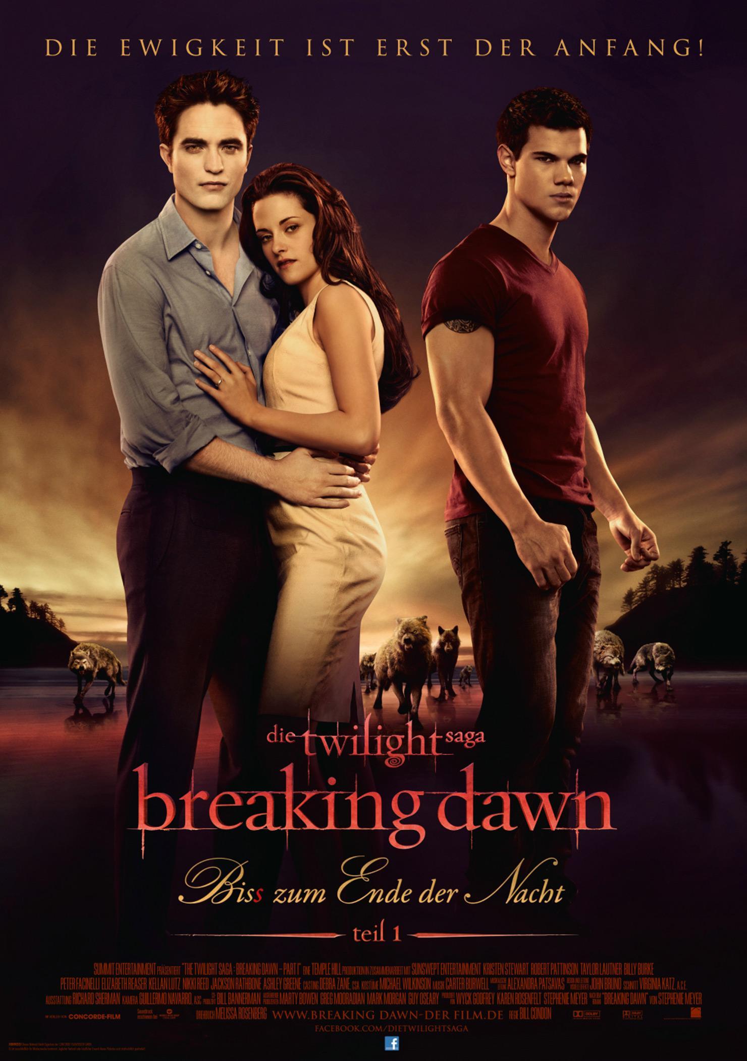 Breaking Dawn - Bis(s) zum Ende der Nacht Teil 1 (Poster)
