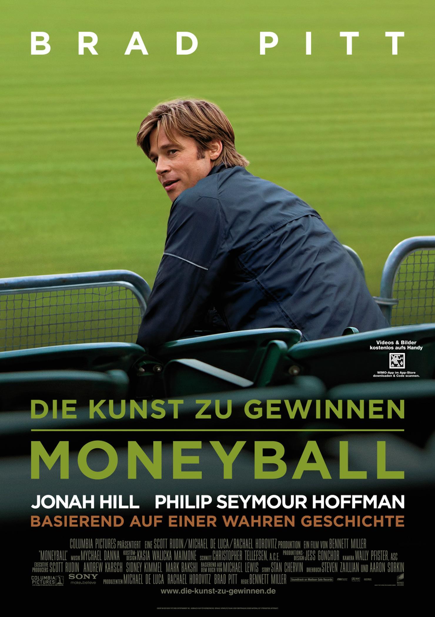 Die Kunst zu gewinnen - Moneyball (Poster)