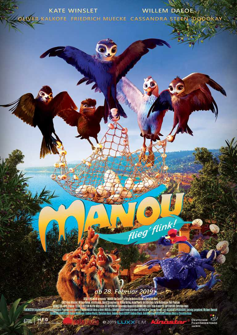 Manou - flieg' flink! (Poster)