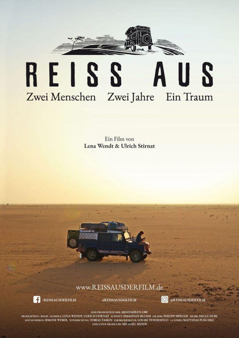 REISS AUS - Zwei Menschen. Zwei Jahre. Ein Traum (Poster)