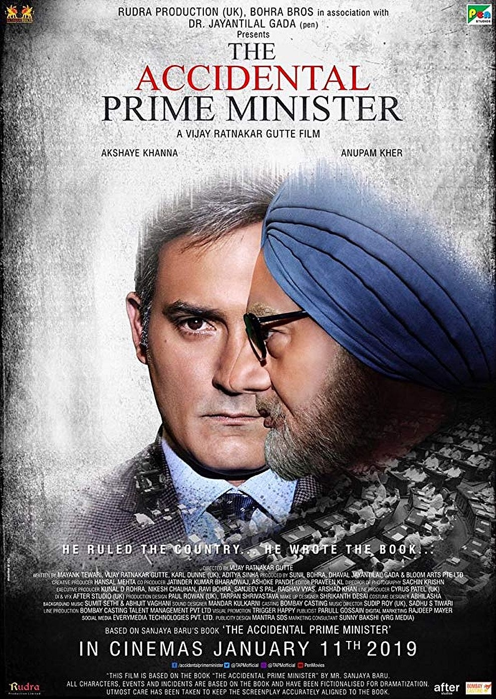 The Accidental Prime Minister (Poster)