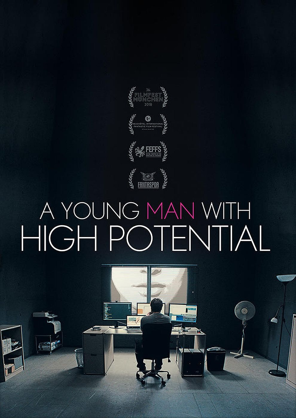 A Young Man with High Potential (Poster)