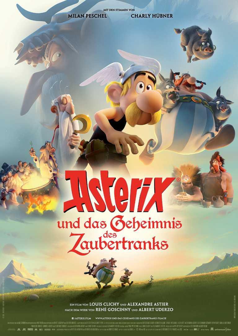 Asterix und das Geheimnis des Zaubertranks (Poster)