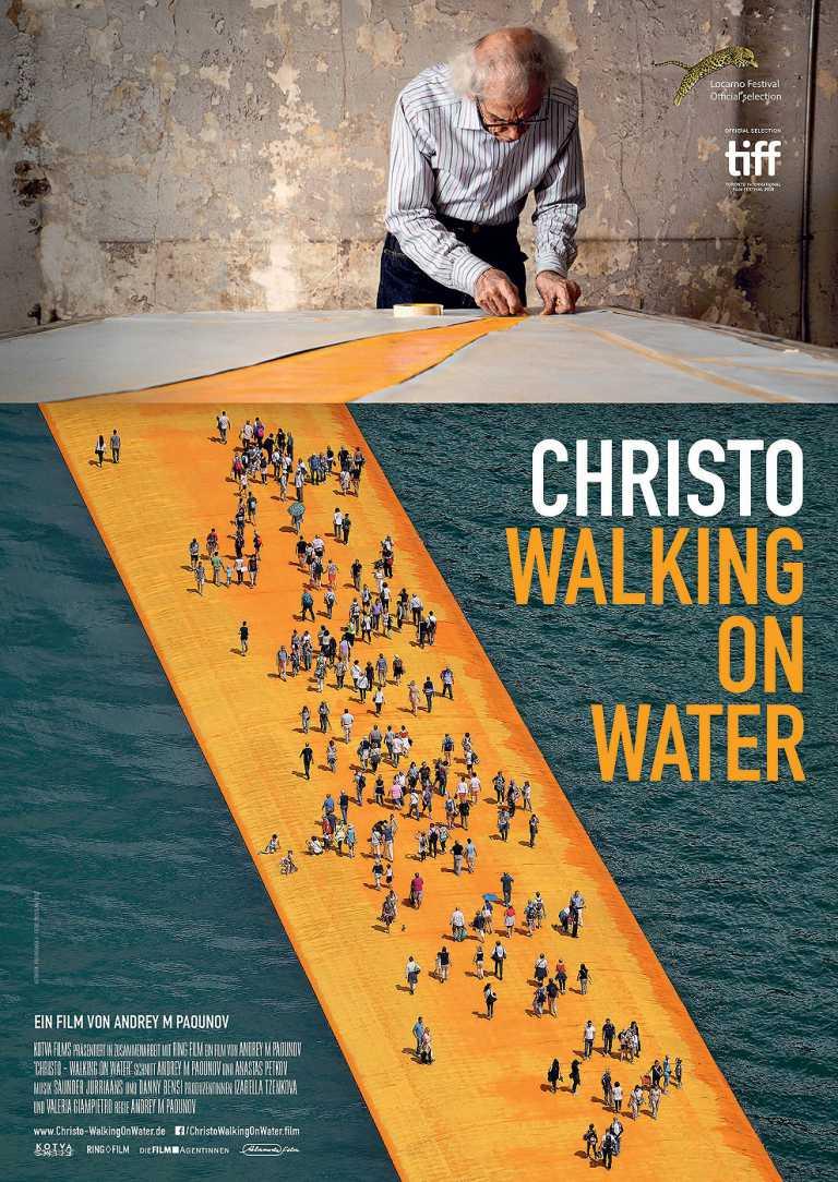 Christo - Walking on Water (Poster)