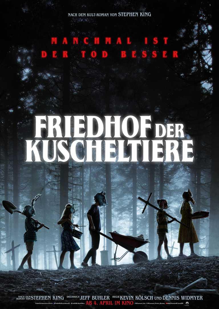 Friedhof der Kuscheltiere (Poster)
